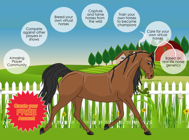 where you can own your own virtual horses
